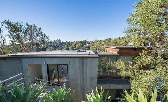 2120 Avon St Los Angeles CA 90026 Echo Park Hills Architectural Home Sold 21