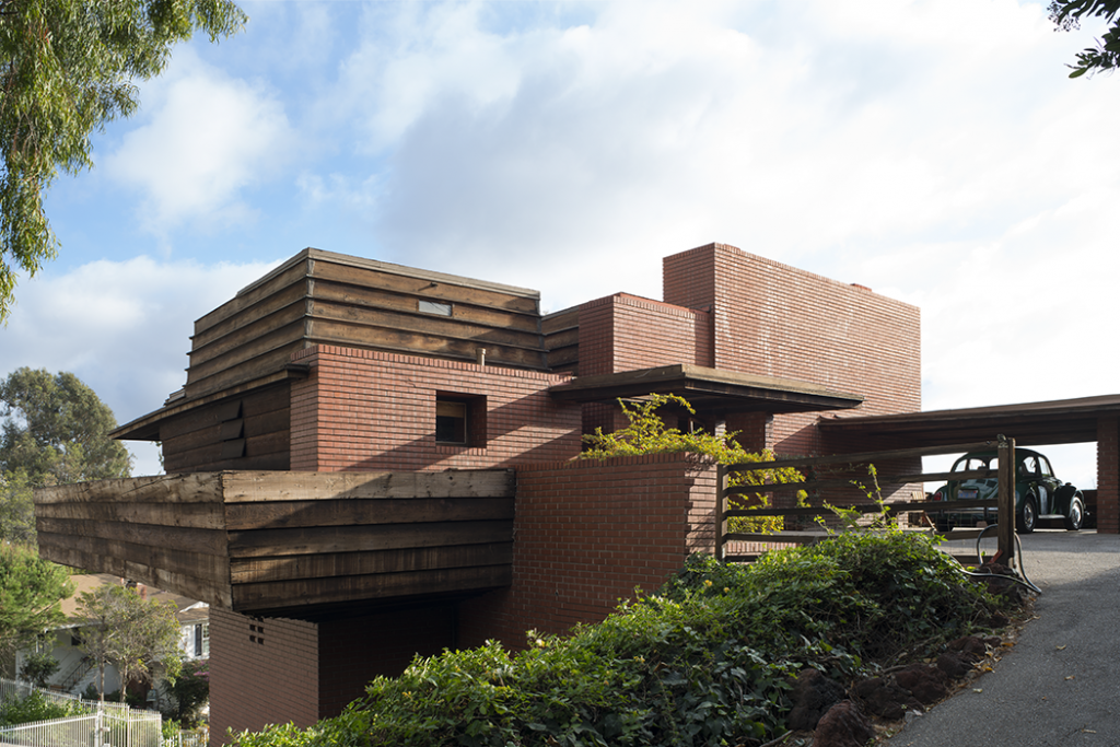Frank Lloyd Wright Sturges Residence Brentwood Los Angeles CA Designed 1939 1