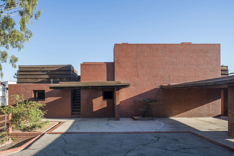 The george sturges house by frank lloyd wright brentwood for Frank lloyd wright california